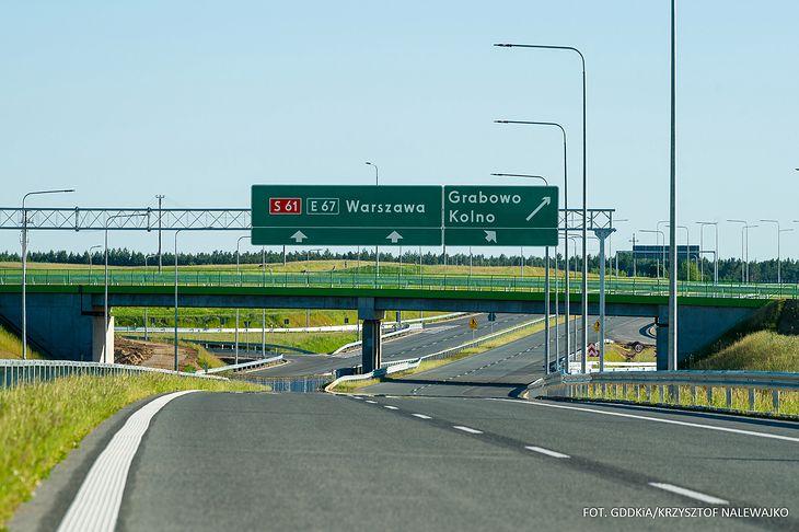 Nowe odcinki S61 usprawnią ruch w północno-wschodniej Polsce.