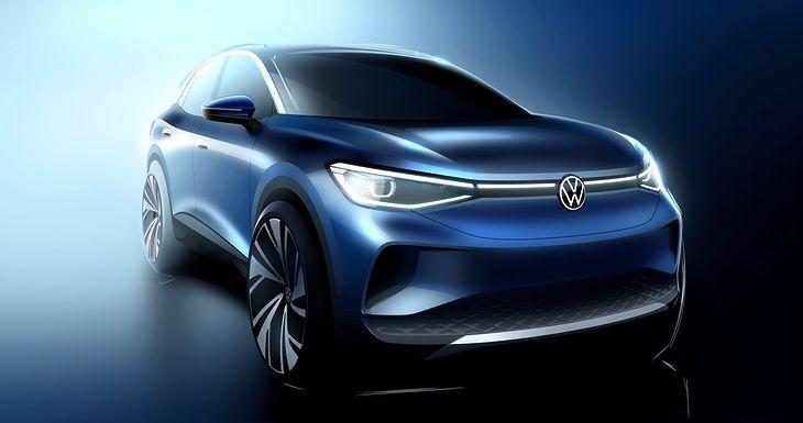 Volkswagen ID.4 będzie drugim członkiem elektrycznej rodziny ID