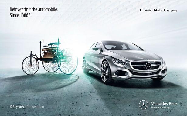 Mercedes - 125 lat innowacji