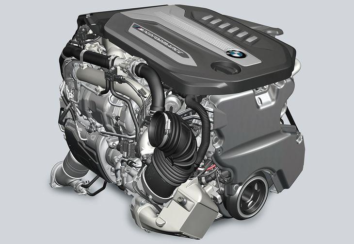 Diesel BMW wyposażony w cztery turbosprężarki