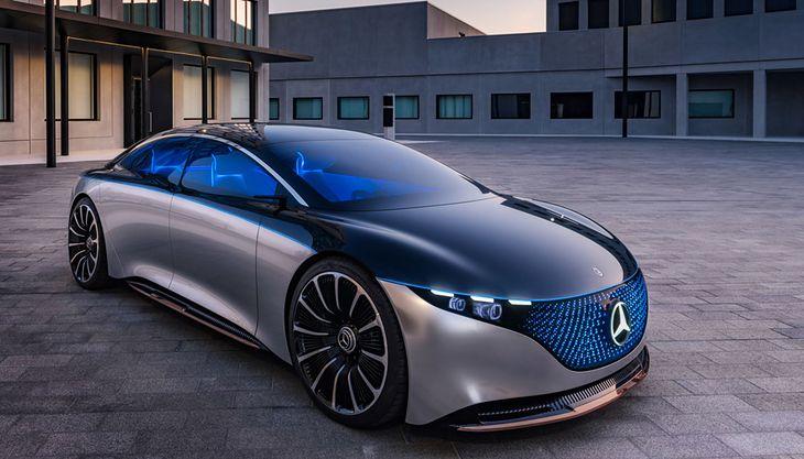 Można się spodziewać, że EQXX będzie jeszcze bardziej obły niż Mercedes EQS (na zdjęciu.)