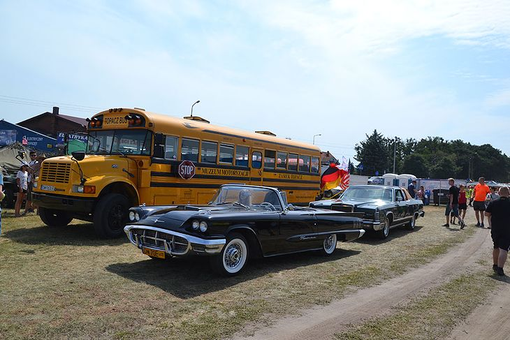 Szkolny autobus Do Milicza zawitał również żółty autobus znany wszystkim z amerykańskiej kinematografii. Zwiedzający mogli nie tylko podziwiać pojazd z zewnątrz, ale też wejść do środka.