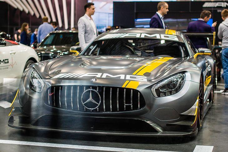 Mercedes wersja AMG