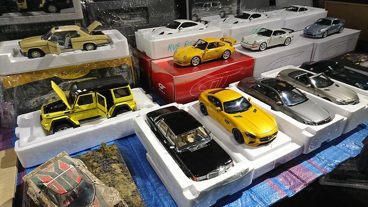 Na Giełdzie Modeli Samochodów w Warszawie dominowały auta niemieckie