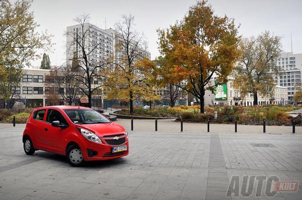 Chevrolet Spark 10 Miejska Iskra Test Autokult Autokult