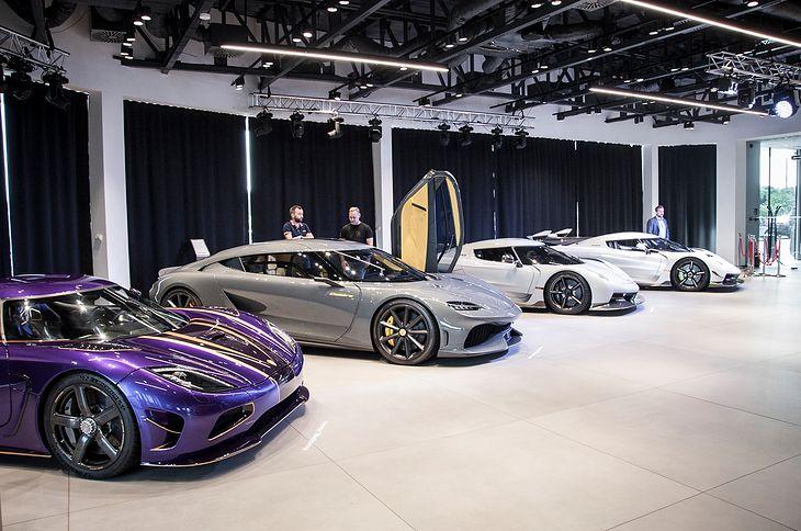 Premiera Koenigsegga w Polsce (fot. Mateusz Żuchowski)