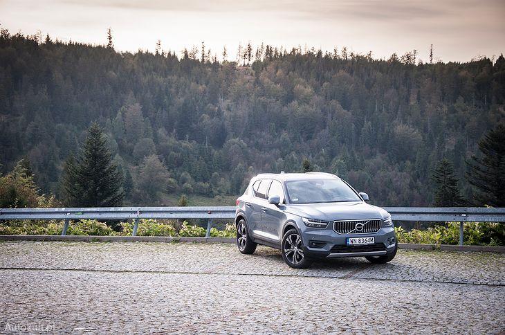 Volvo XC40 (2020) (fot. Mateusz Żuchowski)