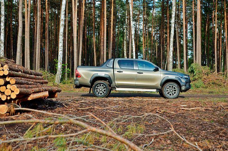 Wjazd do lasu nie spotyka się z wysokimi karami, ale wjazd terenówką zwykle podnosi ciśnienie leśnikom