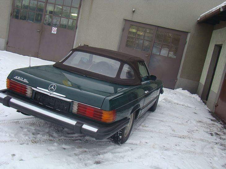 Mercedes 450SL (R107) - dach