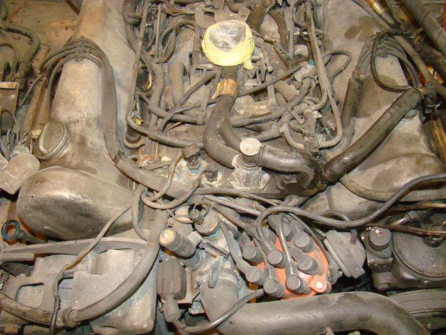 Mercedes R107 450SL - silnik