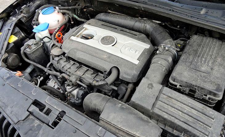 Silnik 1.8 TSI w często służył to tworzenia wersji 4x4 kompaktowych modeli z Grupy VW.