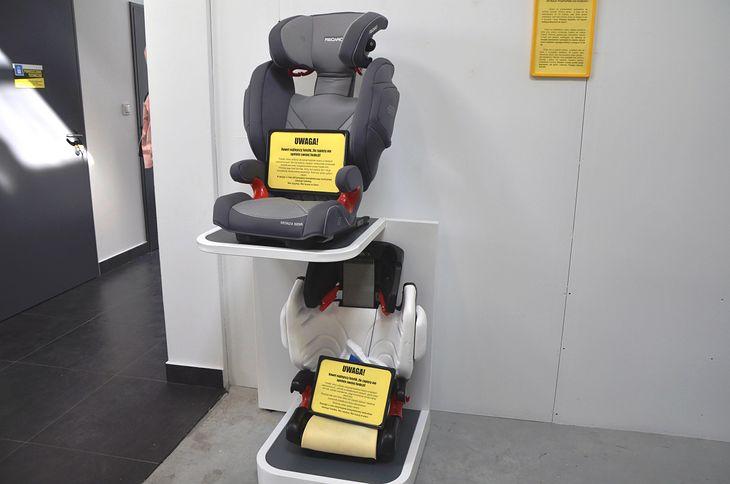 Foteliki samochodowe biorące udział w wypadkach to jeden z obiektów badań fotelik.info