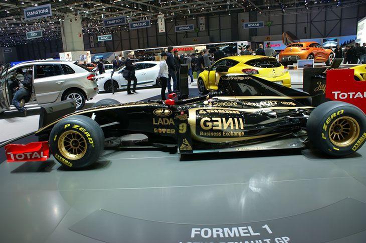 Bolid Renault