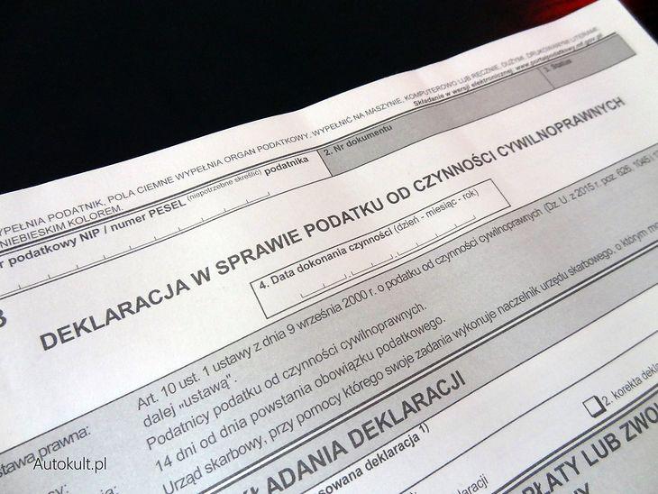 Wysokość podatku zależy od ceny pojazdu, ale urzędnik może wprowadzić poprawki