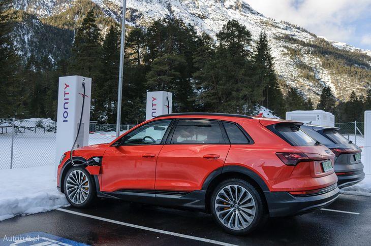 Audi e-tron jest najpopularniejszym nowym autem w Norwegii.