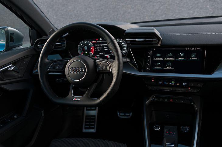 Wnętrze Audi A3 Sportback 35 TDI