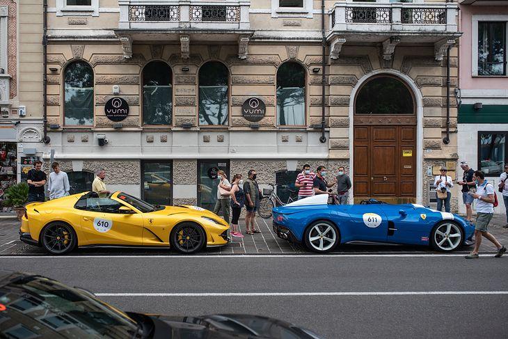 Ferrari Tribute to Mille Miglia 2021