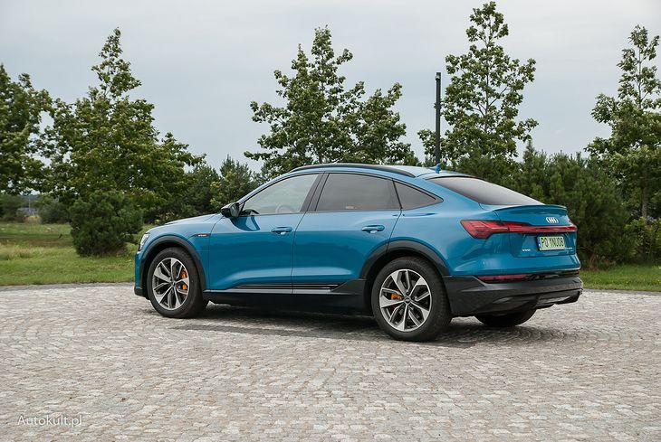 Audi e-tron Sportback oferuje nawet ponad 400 km zasięgu