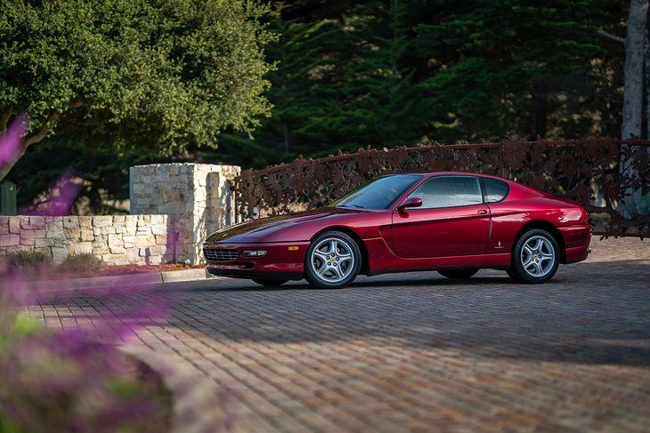 Ferrari 456 GT z manualną skrzynią biegów w wersji przedliftowej wyprodukowano zaledwie 1548 egzemplarzy