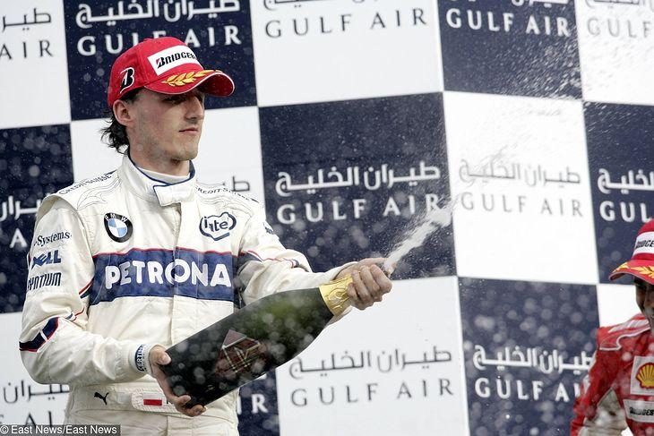 Pole Position z Bahrajnu było jednym z największych sukcesów Kubicy.