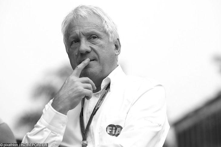 Charlie Whiting - od 1988 delegat techniczny FIA, od 1997 roku dyrektor wyścigów.