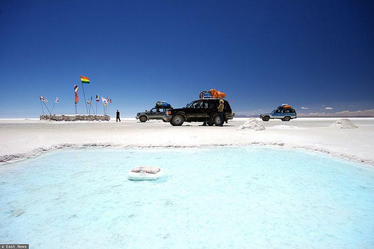 Salar de Uyuni - największe na świecie złoże litu (fot. East News)