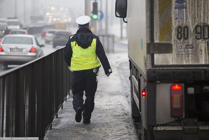 Powodem niepewnej jazdy kierowcy ciężarówki bynajmniej nie był alkohol