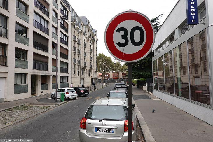 Taki znak może za kilka lat stać się powszechny także i w naszych miastach