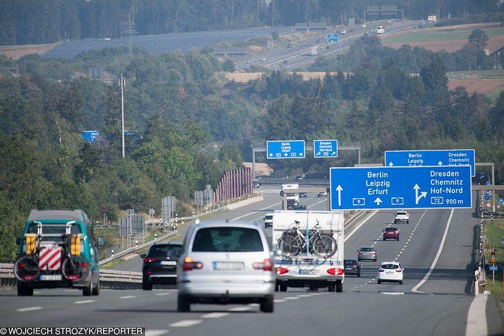 Autostrada w Niemczech (fot. WOJCIECH STROZYK/REPORTER)