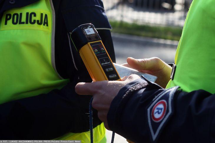 Policjantom zabrakło skali w alkomacie, podczas badania kierowcy