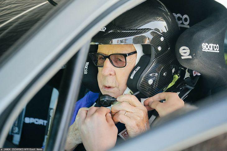 Sobiesław Zasada to oficjalnie najstarszy zawodnik w historii WRC.
