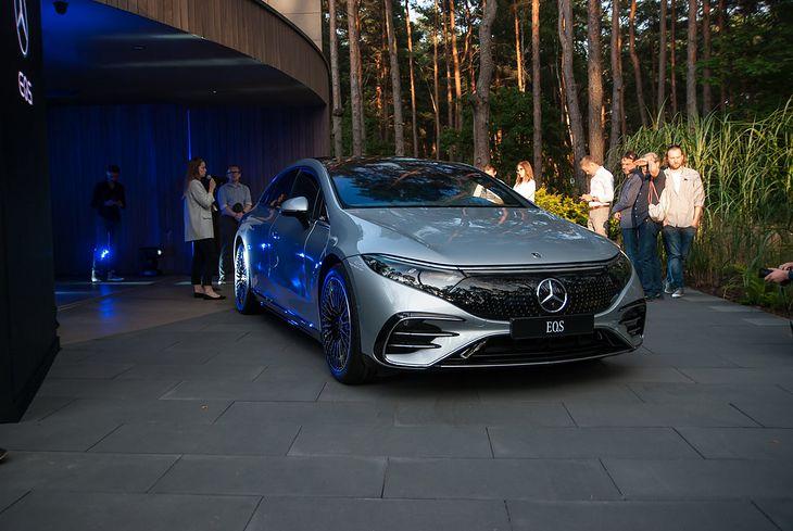 Mercedes EQS niedawno zaliczył oficjalną polską premierę