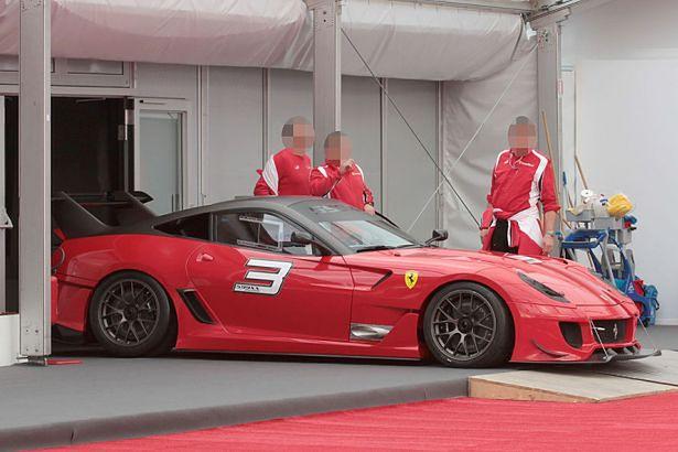 Ferrari 599XX Evoluzione - zdjęcie szpiegowskie