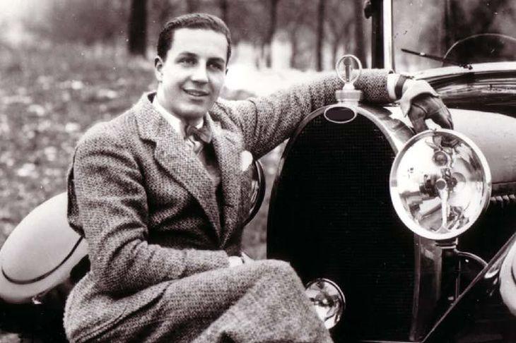 Młody Ettore Bugatti