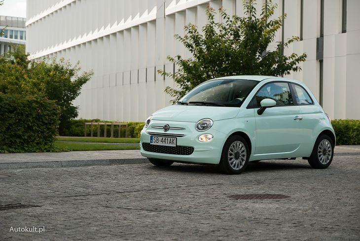 Fiat 500 z miękką hybrydą jest objęty rabatem w wysokości 5 tys. zł.