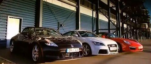 Audi TT-RS vs Nissan 370Z vs Porsche Boxster S