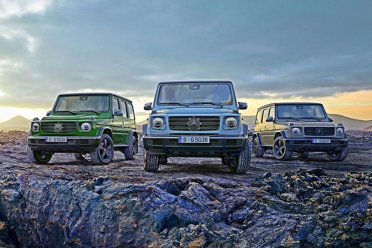 Fantazyjne lakiery i diesel G 400 d to największe nowości w gamie G-klasy.