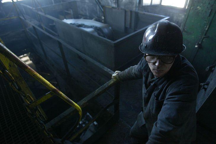 """Kopalnia Węgla Kamiennego """"Wieczorek"""" w Katowicach (fot. Sean Gallup/Getty Images)"""