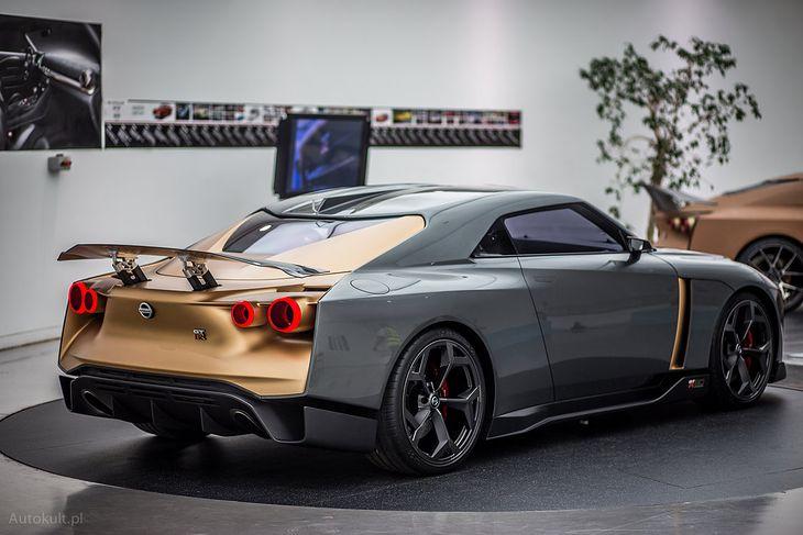 GT-R50 by Italdesign to specjalna wersja auta stworzona na 50-lecie modelu