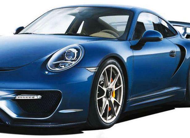 911 (991) GT2 render