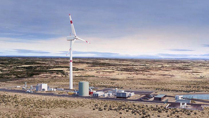 Fabryka e-paliwa Haru Oni w Chile