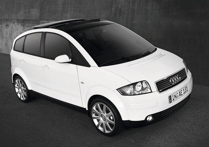 Audi A2. Na pewno w podbiciu rynku nie pomogła mu cena,