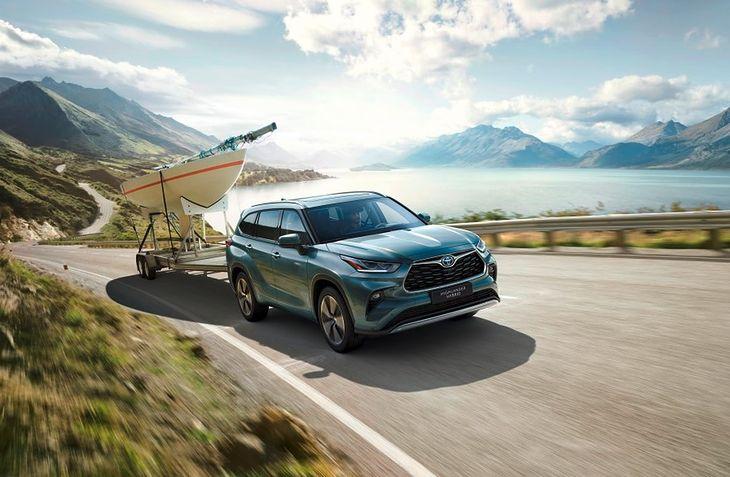 Nowa Toyota Highlander jest dostępna także na wybranych rynkach Europy.