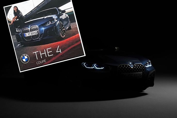 Nowe BMW Serii 4 (2020) - oficjalny teaser i wyciek z katalogu