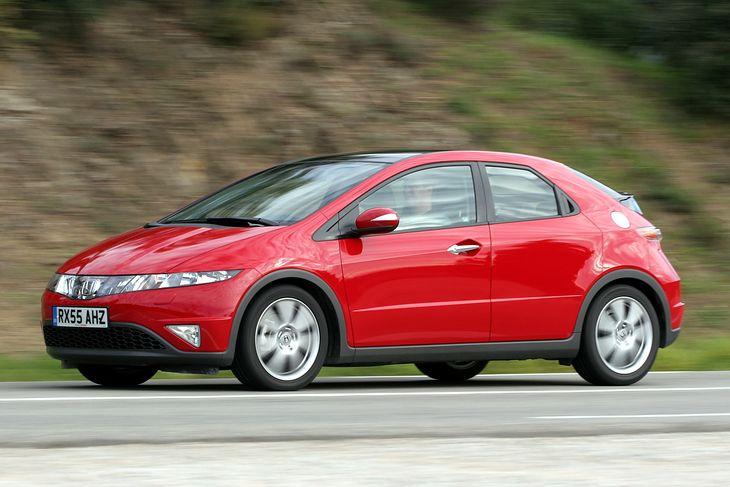 Honda Civic VIII - jedno z najmniej awaryjnych aut w obszarze elektryki.
