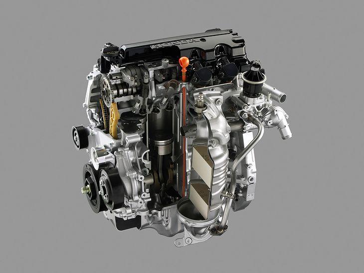 Pomimo nowoczesności, silnik Hondy z rodziny R robi przebiegi powyżej 500 tys. km.