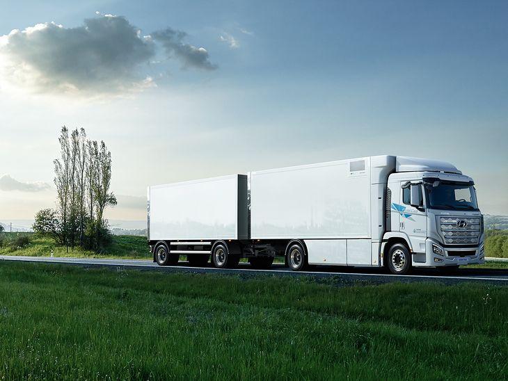 Wodorowe ciężarówki Hyundaia znajdą swoją niszę w niektórych krajach Europy