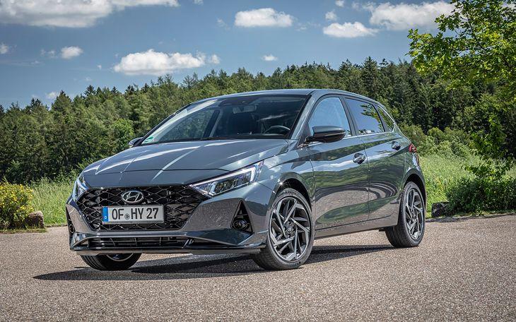 Podstawowa wersja Hyundaia i20 niestety nie może pochwalić się bogatym wyposażeniem