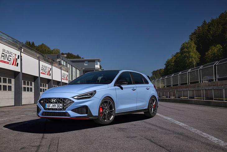 Hyundai i30 N Performance na rok 2021 przeszedł delikatne, ale istotne zmiany.
