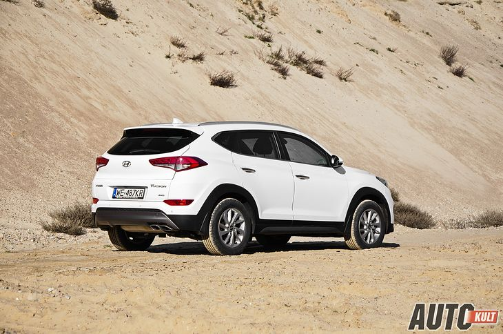 Nowy Hyundai Tucson 2015 20 Crdi Style Test Opinia Spalanie